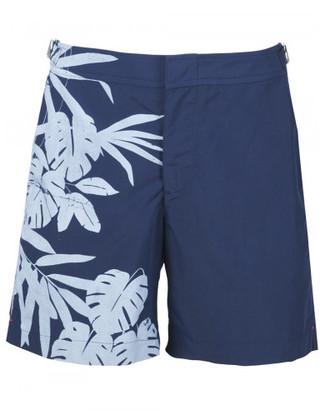 Orlebar Brown tropical print swim shorts $275 thestylecure.com