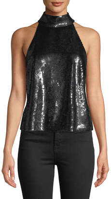 Joie Lei Lei Sequin Halter Top