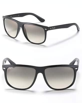 Ray-Ban Unisex Boyfriend Flat Top Square Sunglasses, 60mm