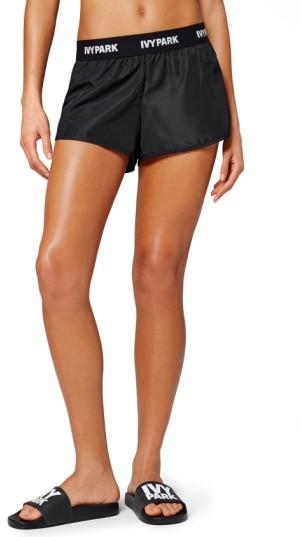 Women's Ivy Park Logo Elastic Waist Running Shorts