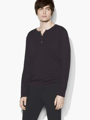 John Varvatos Burnout Henley