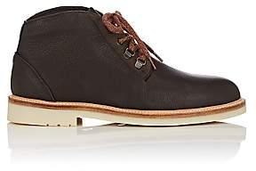 Loro Piana Men's Aspen Walk Leather Chukka Boots-Beige, Tan