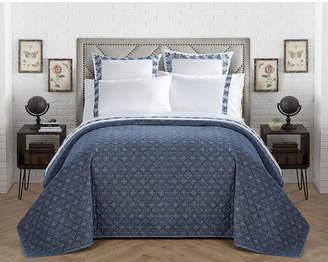 Chic Home Lux-bed Sarita Garden King Quilt Bedding
