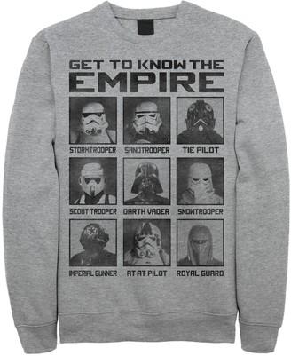 Men's Star Wars Storm Trooper Types Sweatshirt