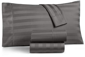 Charter Club Damask Stripe California King 4-Pc Sheet Set, 550 Thread Count 100% Supima Cotton