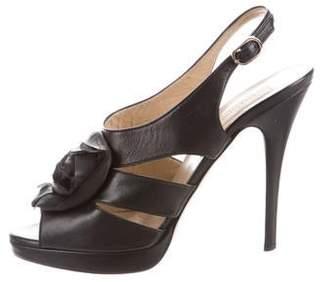 Valentino Ankle Strap Platform Sandals