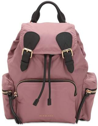 Burberry Medium The Rucksack Nylon Backpack