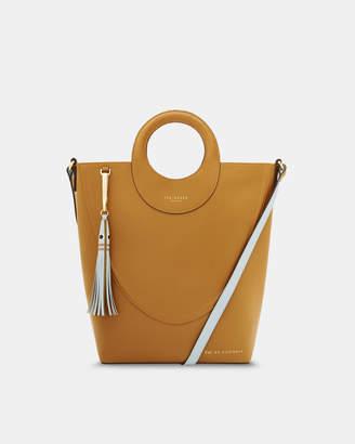 d595f8090d0cf9 Ted Baker STINGER Leather shopper bag
