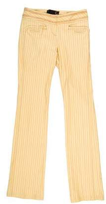 Just Cavalli Mid-Rise Straight-Leg Pants w/ Tags