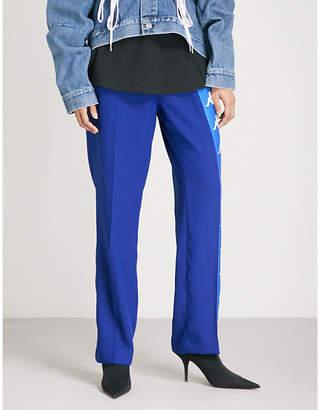 Faith Connexion x Kappa crepe trousers