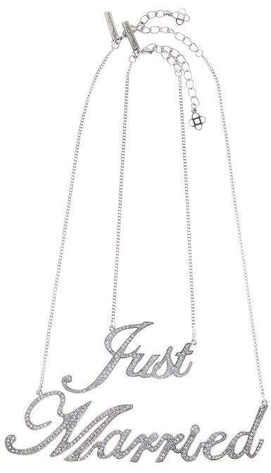 Oscar de la Renta Just Married Necklace