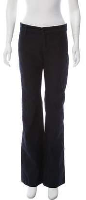 Marc Jacobs Mid-Rise Wide-Leg Pants