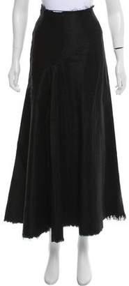 Marques Almeida Marques' Almeida Denim Midi Skirt