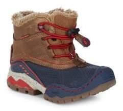 Little Boy's & Boy's Faux Fur-Lined Waterproof Boots