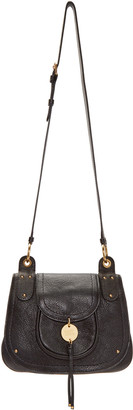See by Chloé Black Small Charm Bag $395 thestylecure.com