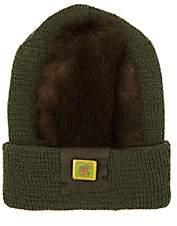 Albertus Swanepoel Men's Gustav Wool Beanie-Dk. Green