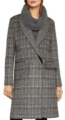 BCBGMAXAZRIA Valentina Glen Plaid Coat