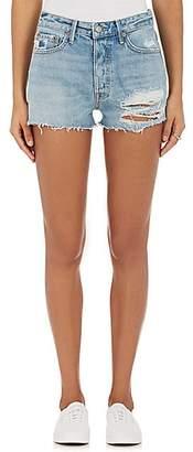 GRLFRND Women's Cindy Distressed Denim Cutoff Shorts - Lt. Blue