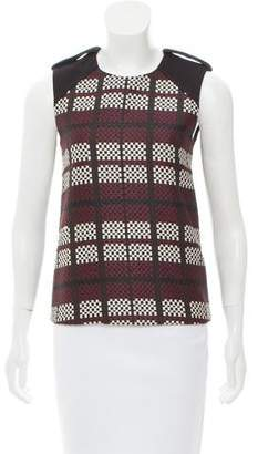 Belstaff Sleeveless Tweed Top