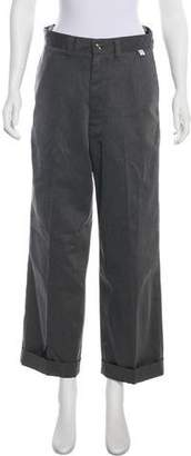 Facetasm High-Rise Wide-Leg Pants