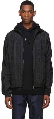Givenchy Black 90s Logo Track Jacket