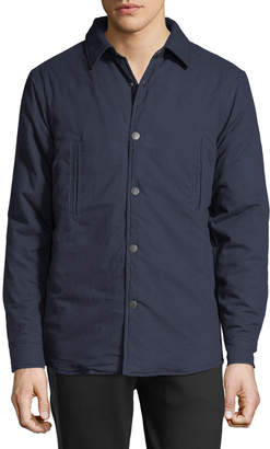 Slate & Stone Men's Quilted Snap-Front Shirt Jacket