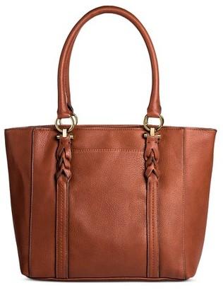 Women's Faux Leather Tote Handbag  - Merona $39.99 thestylecure.com