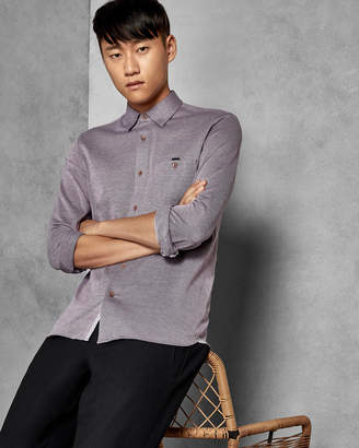 Ted Baker TIMOTHY Cotton jersey shirt