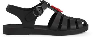 Gucci Children's rubber sandal