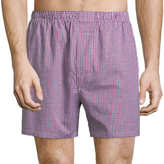 STAFFORD Stafford 4-pk. Woven Cotton Boxers - Big & Tall