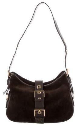 Saint Laurent Suede Shoulder Bag