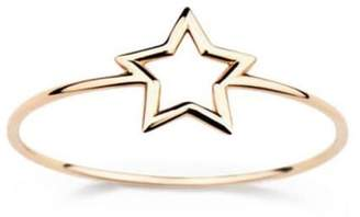 Aurelie Bidermann thin 'Star' ring