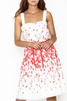 Camelot A Line Print Dress
