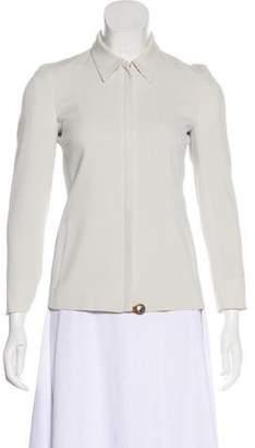 Prada Fitted Zip-Up Jacket