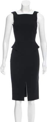 Emilio Pucci Peplum Sheath Dress