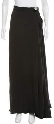 Lanvin Belted Midi Skirt