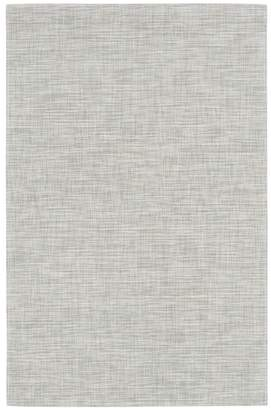 Chilewich Ikat floormat - White/Silver