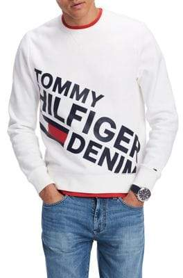 Tommy Hilfiger Printed Crewneck Sweater