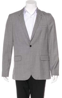 Shipley & Halmos Wool One Button Blazer