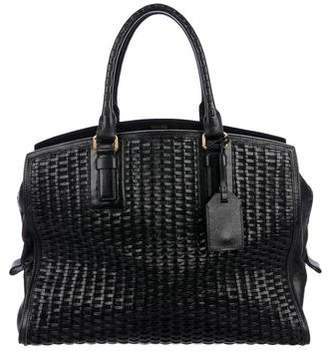 Tom Ford Woven Leather Tote