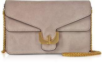 Coccinelle Ambrine Mini Suede Crossbody Bag