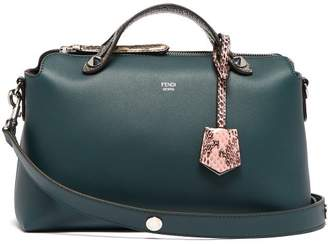 310016c9a76f Fendi By The Way Leather And Ayers Cross Body Bag - Womens - Green Multi