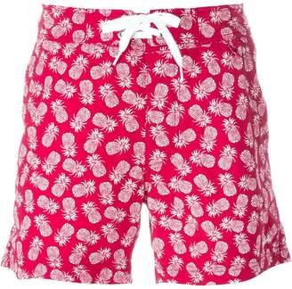 Woolrich pineapple print swim shorts