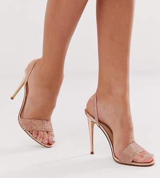 46eadfcc11e Steve Madden Exclusive Fierce rhinestone slingback heeled sandals