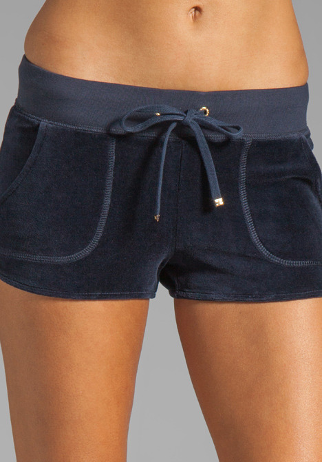 Juicy Couture Velour Dolphin Short