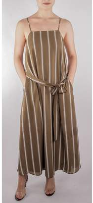 Image result for OLIVE AND BROWN STRIPE GOWN