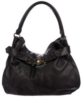 Burberry Metallic Leather Hobo