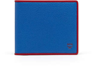 MCM Bifold Wallet In Coburg Tipped Leather