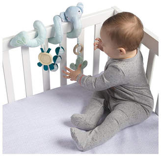 Manhattan Toy Safari Elephant Spiral Stroller And Crib Toy