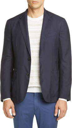 Ermenegildo Zegna Informale Classic Fit Cashmere & Silk Sport Coat